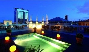 Hotel Casa Fuster Blue-view